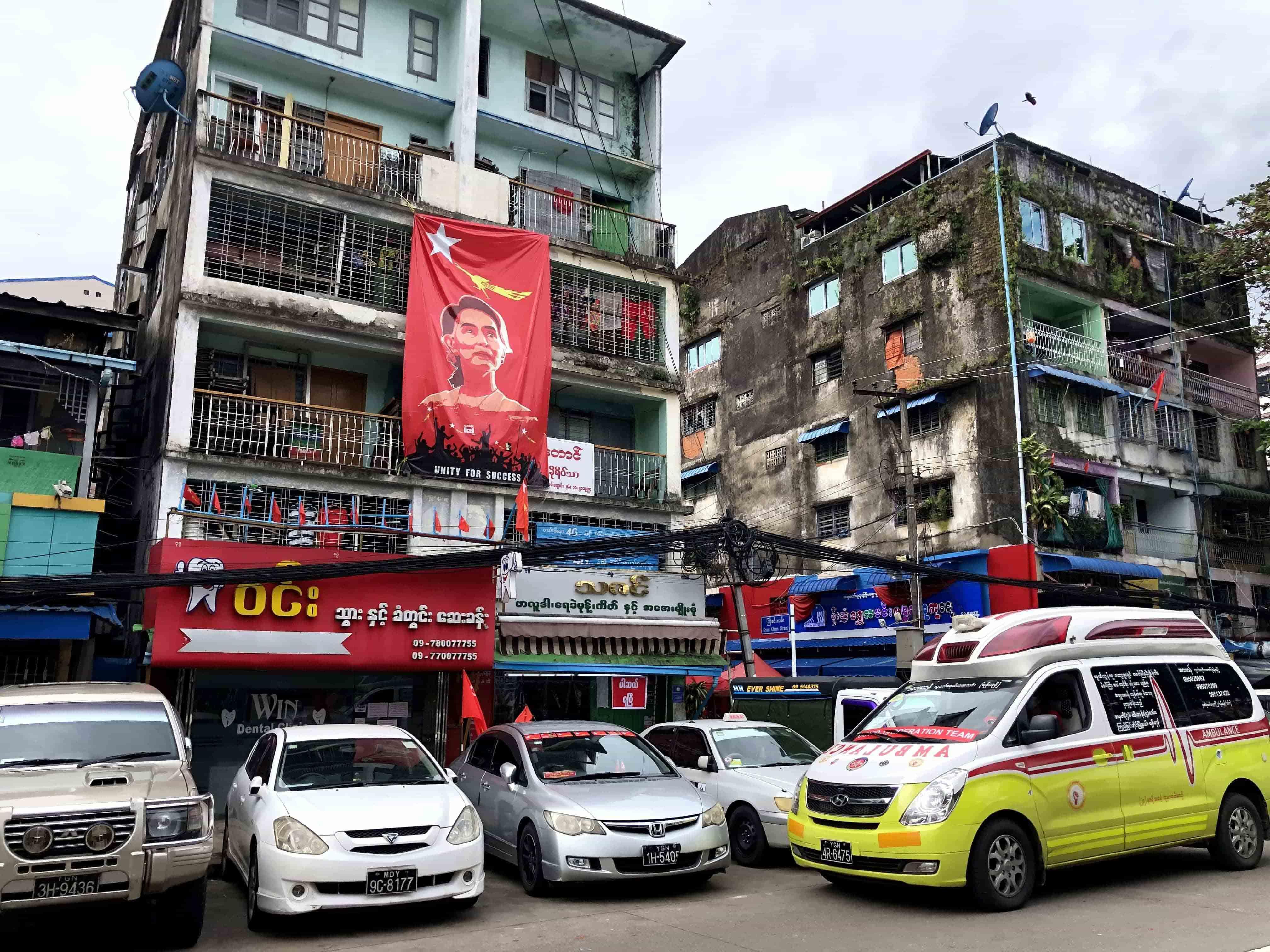即使翁山蘇姬近年爭議不斷,依舊是緬甸國內最受擁戴的領袖